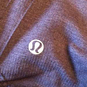 Lululemon eggplant purple scrunched side leggings